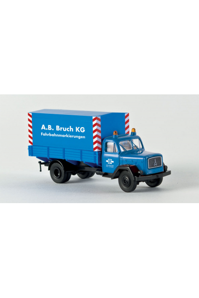 Brekina 46008 Автомобиль Magirus 125 A. B. Bruch 1/87