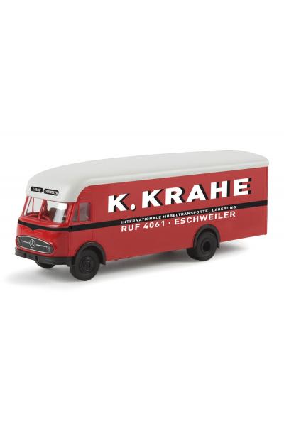 Brekina 57219 Автомобиль Mercedes LP 322 K.Krahe Mobelwagen 1/87