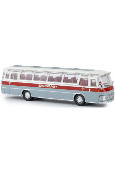 Brekina 58234 Автобус Neoplan Saurer NS 12 Swissair 1/87
