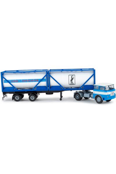 Brekina 71818 Автомобиль LIAZ 706 Leuna Container-SZ 1/87