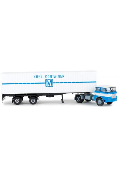 Brekina 71819 Автомобиль LIAZ 706 Kohl-Container Container-SZ 1/87