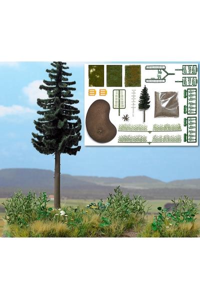 Busch 1259 Набор растений для макета 1/87