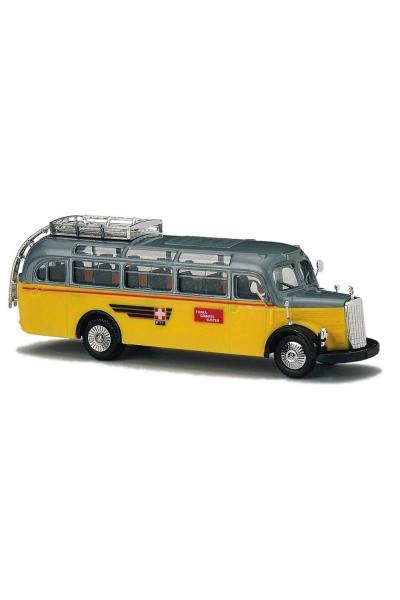 Busch 41035 Автобус MB O-3500 Schweizer Postbus 1/87