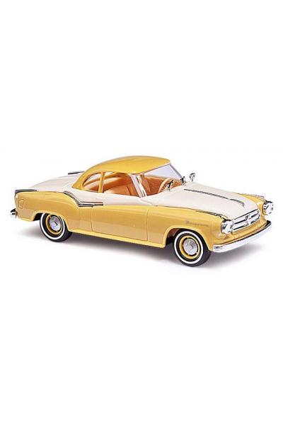 Busch 43103 Автомобиль Borgward Isabella Coupe 1958 Epoche III 1/87