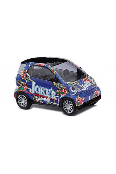 Busch 46197 Автомобиль Smart Fortwo 98 Joker Epoche VI 1/87
