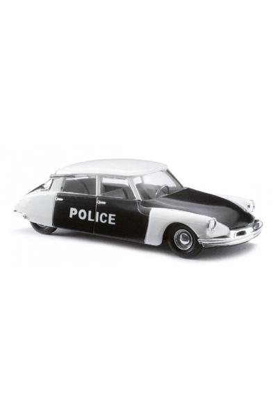 Busch 48011 Автомобиль Citroen DS19 Police Epoche III 1/87