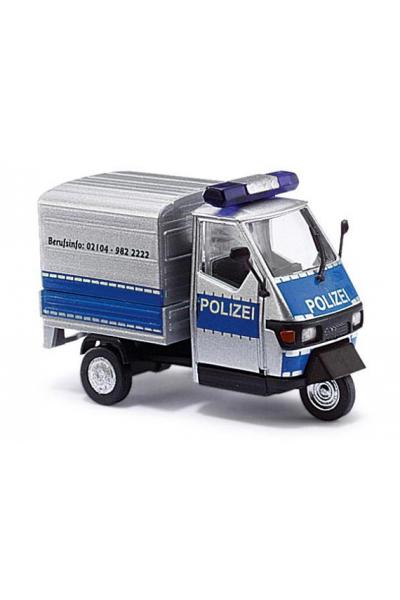 Busch 48462 Автомобиль Piaggio Ape 50 Polizei Epoche VI 1/87