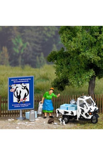 Busch 7720 Миниатюра Ох уж это молоко 1/87