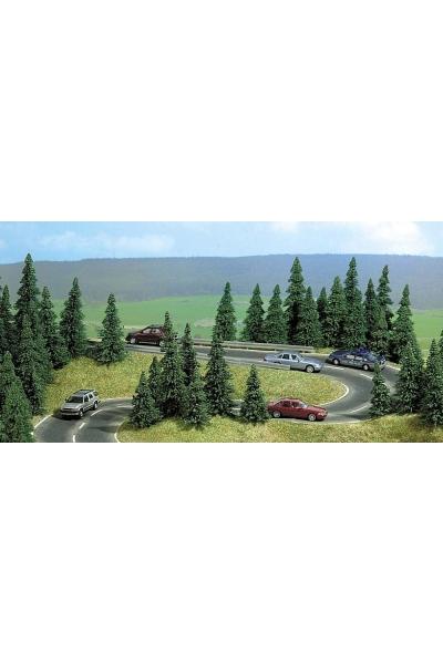Busch 9711 Автомобильная дорога радиус 80мм R230мм 1/87
