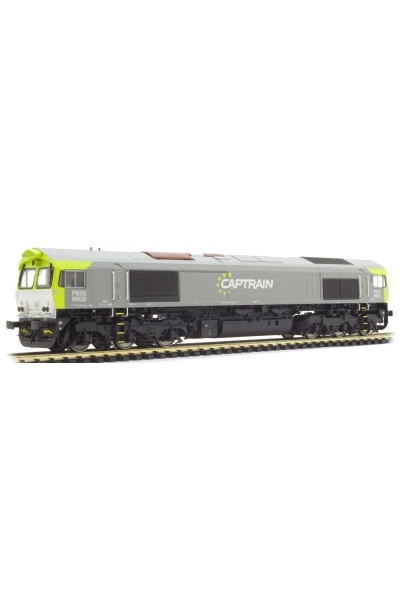 ESU 31276 Тепловоз C66 Captrain 6609 PRIVAT Epoche V-VI 1/87
