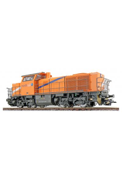ESU 31303 Тепловоз G1000 1271 026-7 Northrail ЗВУК DCC Epoche VI 1/87