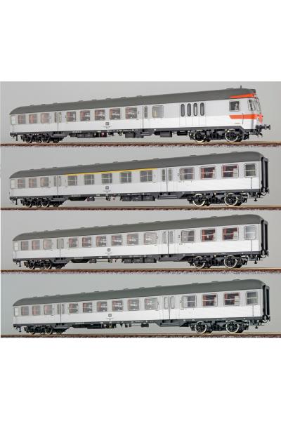 ESU 36469.4 Набор пассажирских вагонов DB Epoche VI 1/87