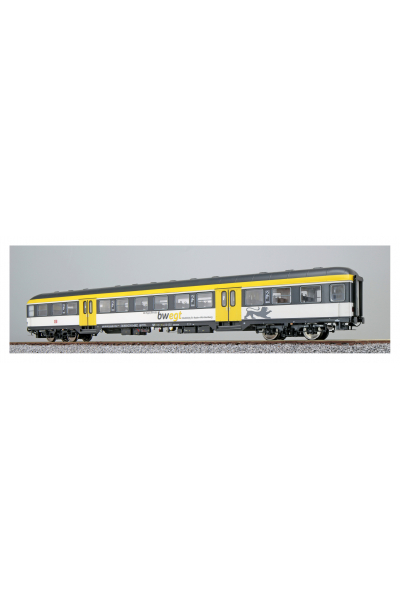 ESU 36510 Вагон пассажирский Bnrz 451.4 22-34-112-9 DB AG Epoche VI 1/87