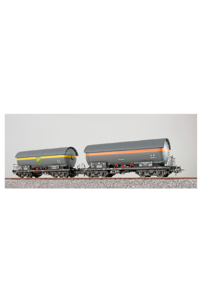 ESU 36520 Набор вагонов ZAG EVA+BP DB Epoche III 1/87