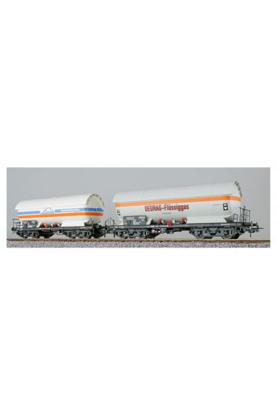 ESU 36525 Набор вагонов ZAG 620 Linde+Deurag DB Epoche IV 1/87