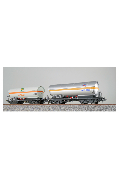 ESU 36527 Набор вагонов ZAG ESSO+BP DB Epoche IV 1/87