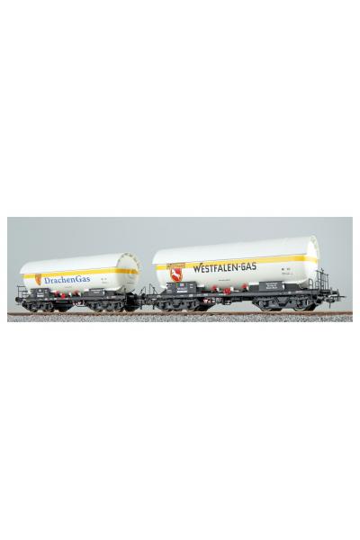 ESU 36530 Набор вагонов ZAG 620 Westfalen Gas+Drachen Gas DB Epoche III 1/87