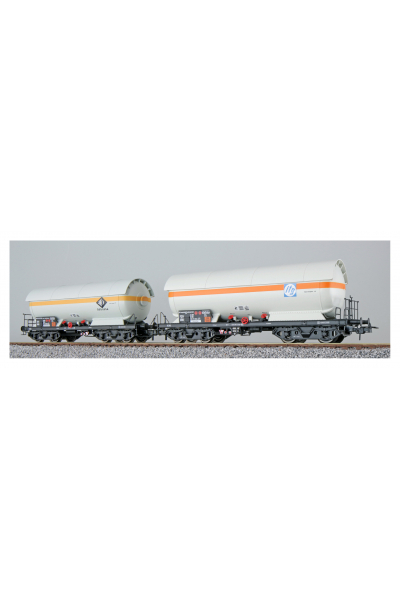 ESU 36533 Набор вагонов ZAG 620 Degussa+ITG DB Epoche IV 1/87