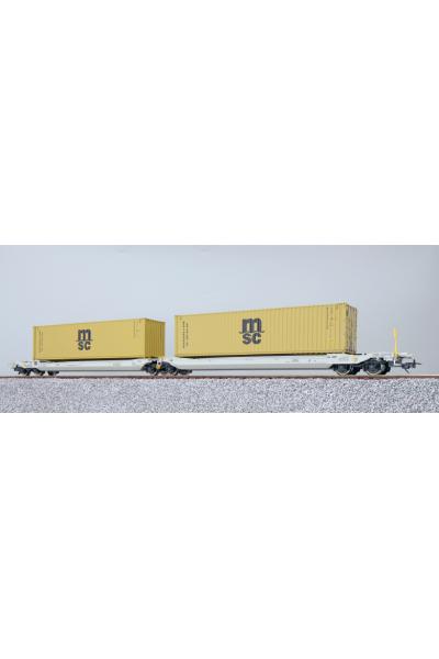 ESU 36541 Набор вагонов Sdggmrs, 37 84 499 3 176-5 NL-AAEC Epoche VI 1/87