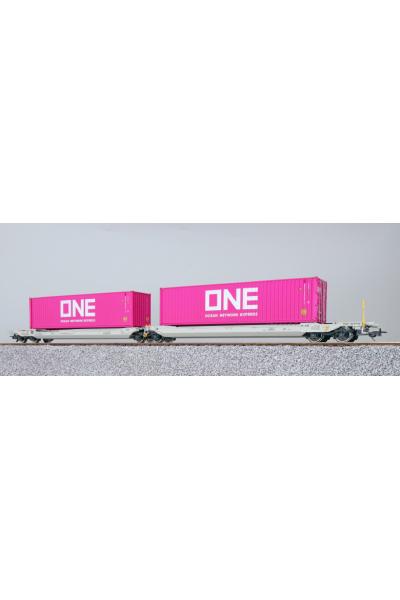 ESU 36542 Набор вагонов Sdggmrs, 37 84 499 3 181-5 NL-AAEC Epoche VI 1/87