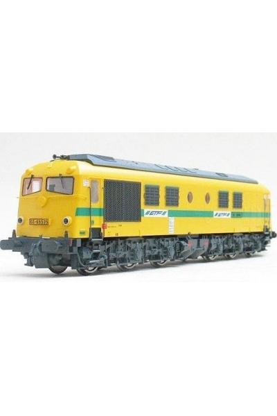 Electrotren 2804 Тепловоз CC 65505 ex SNCF ETF Epoche V 1/87
