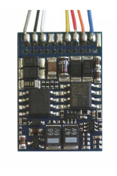 Декодер LokPilot V3.0  MM/DCC/SX 6-pin NEM 651