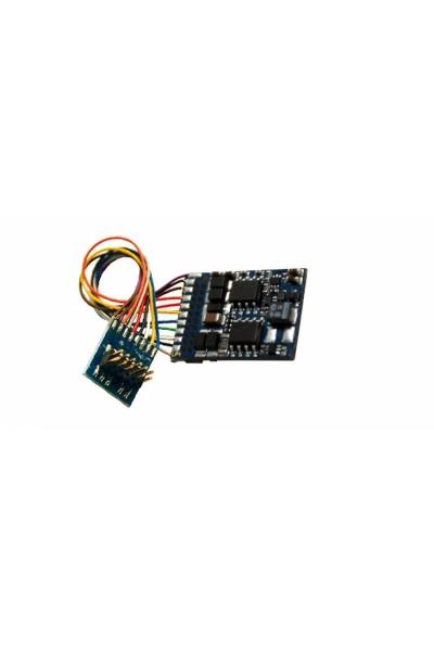 Декодер локомотивный LokPilot V4.0, Multiprotokol MM/DCC/SX, PluX12 с проводами
