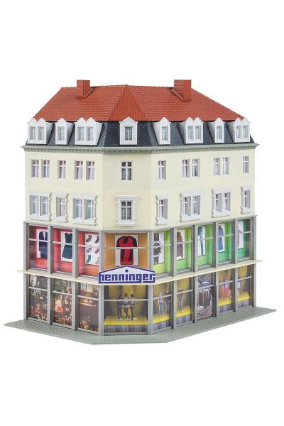 Faller 130704 Угловой дом с магазином 1/87