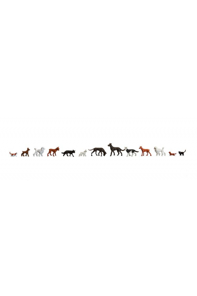 Faller 154012 Собаки и кошки 1/87