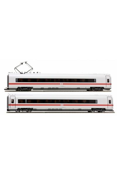 Fleischmann 448281 Набор вагонов 2шт.ICE Velaro 407 DB AG Epoche VI 1/87
