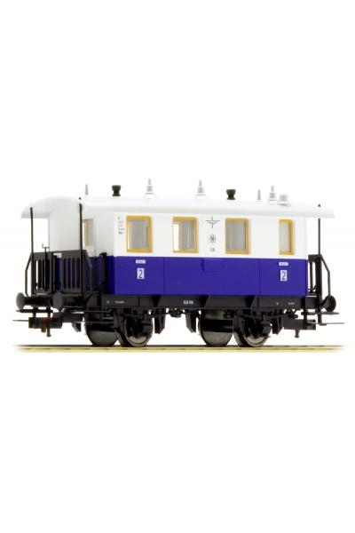 Fleischmann 505302 Вагон пассажирский Edelweiss Privatbahn Epoche III 1/87 RO