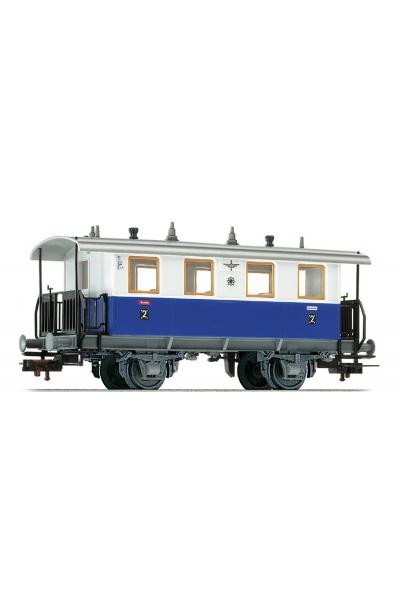 Fleischmann 505303 Вагон пассажирский Edelweiss Privatbahn Epoche III 1/87 RO