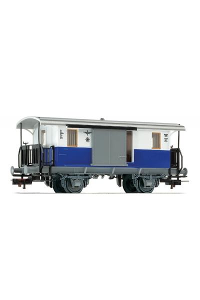 Fleischmann 505402 Вагон багажый Edelweiss Privatbahn Epoche III 1/87 RO