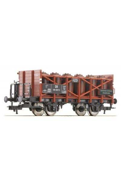 Fleischmann 522007 Вагон для кислоты Zschimmer Schwarz DB Epoche III 1/87 VN