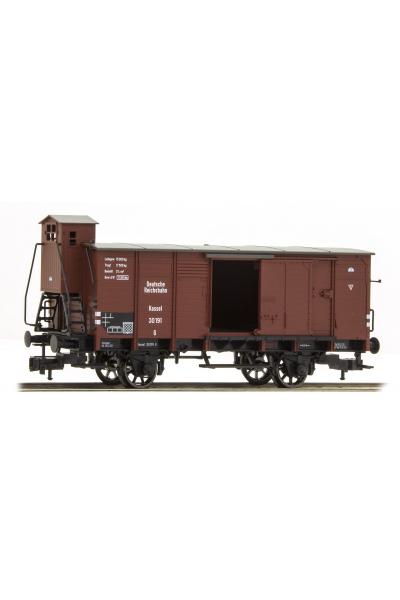 Fleischmann 535801 Вагон грузовой Bauart G DRG Epoche II 1/87