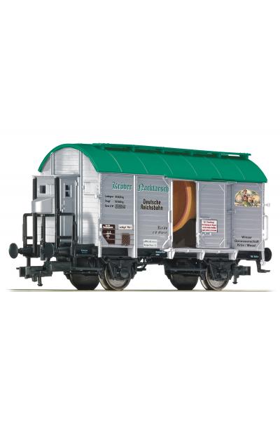 Fleischmann 545509 Вагон грузовой Krover Nacktarsch DRG Epoche II 1/87