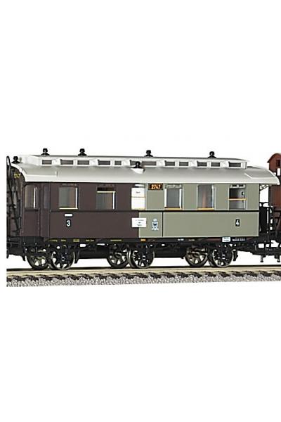 Fleischmann 855822 Вагон пассажирский 3/4кл K.P.E.V. Epoche I 1/87