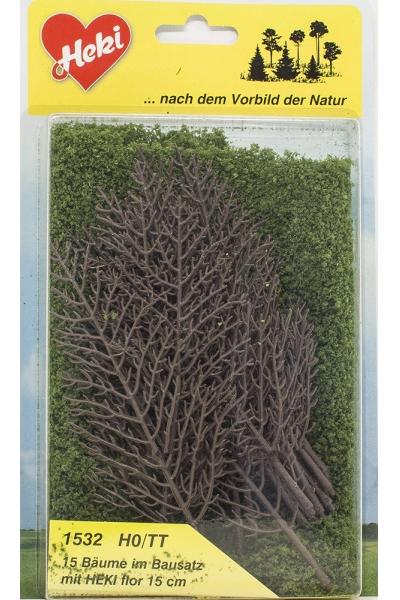 Heki 1532 Набор для изготовления деревьев 15шт 15см