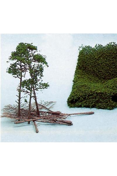 Heki 1534 Набор для изготовления деревьев 10шт 10-16см