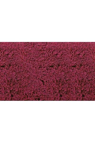 Heki 1588 Цветочный коврик 28x14см красный