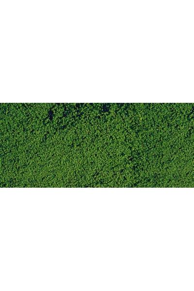 Heki 1602 Листва коврик 28Х14см тёмно зелёный