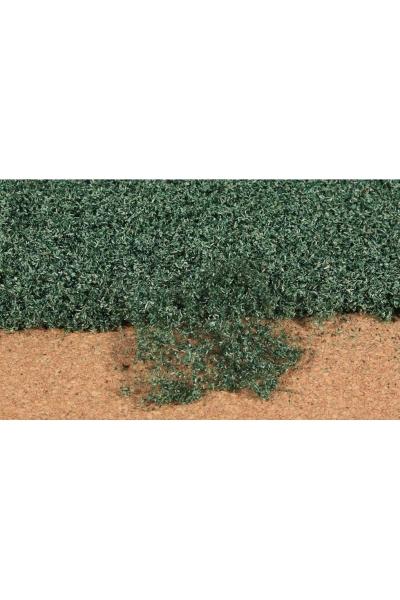 Heki 1679 Листва коврик 28Х14см тёмно зелёный
