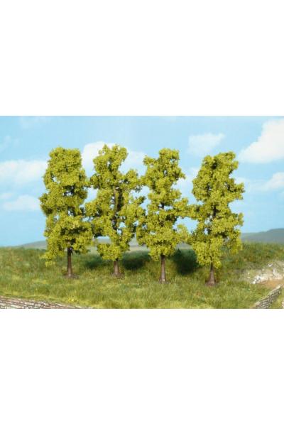 Heki 1977 Набор деревьев 4шт 11см