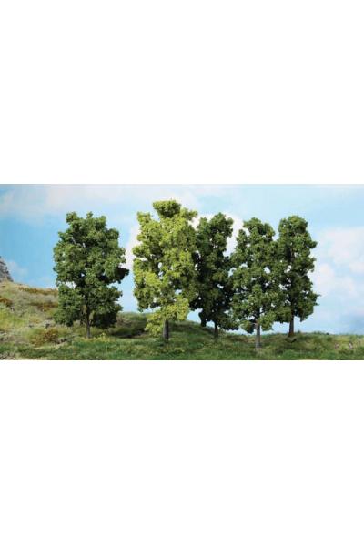 Heki 1990 Набор деревьев 5шт 18см