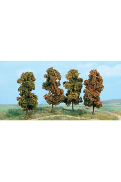 Heki 2002 Набор деревьев 4шт 11см