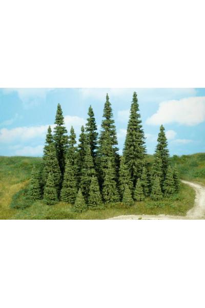 Heki 2152 Набор деревьев 7шт 7-11см