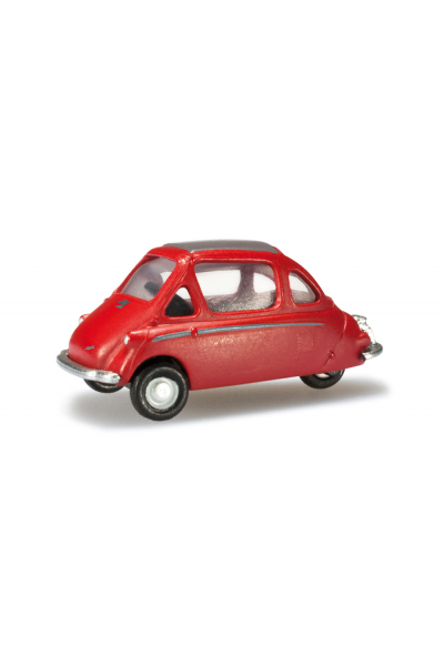 Herpa 027519 Автомобиль Heinkel Kabine Typ 153 1956 Epoche III 1/87