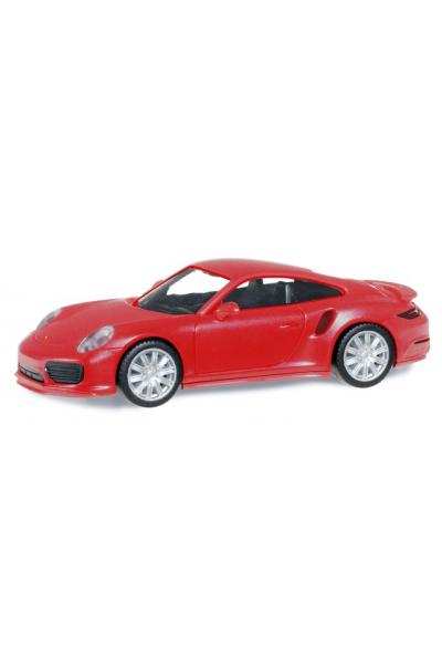 Herpa 028615-002 Автомобиль Porsche 911 Turbo 1/87