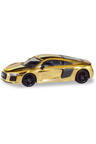 Herpa 038973 Автомобиль Audi R8 gold 1/87
