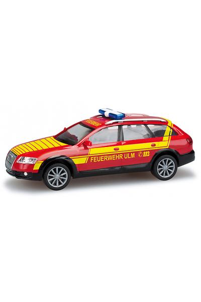 Herpa 049528 Автомобиль Audi A6 Feuerwehr Ulm Epoche VI 1/87
